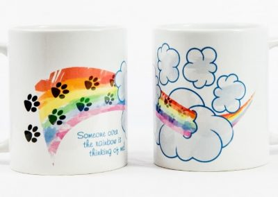 Pet Loss Rainbow Bridge Pet Memory Mug